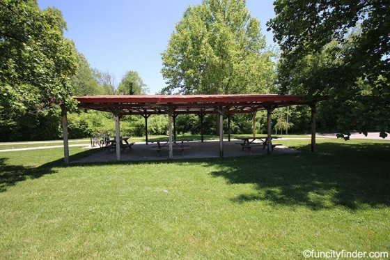 view-of-picnic-shelter-in-town-hall-park-zionsville
